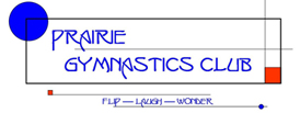 Logo of PRAIRIE GYMNASTICS CLUB